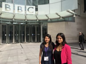 Naila Mughal press interview bbc